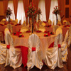 wedding satin chair covers and linens