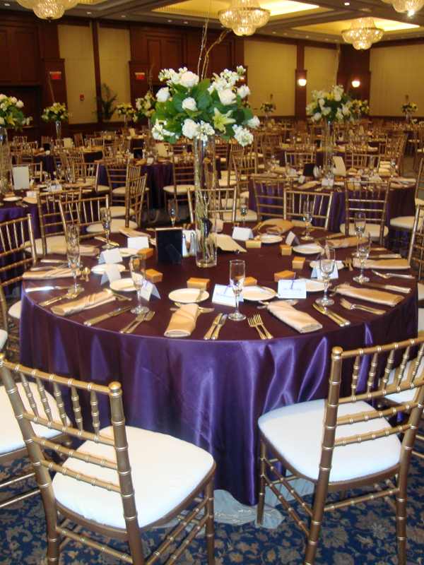 specialty linens & chair covers