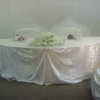 sheer ribbon chivari chair covers