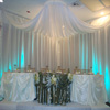 specialty satin chair cover